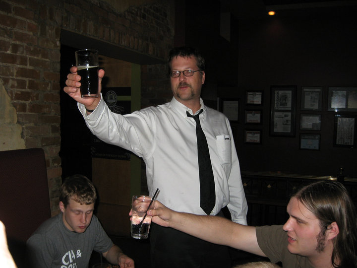 Agent CD Proposes a Toast