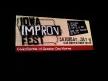 Imrpov Iowa Festival Sign
