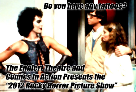 Comics In Action is looking for a few Rocky Horror Picture Show fanatics to round-out our cast-list for the October 27th, 2012 Rocky Horror Picture Show screening at The Englert […]