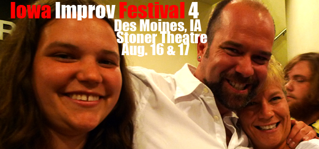 Comedy XPeriment, Des Moines' favorite improv group, again hosts the annual Iowa Improv Festival (IIF) on Friday, Agust 16th and Saturday, August 17th. In its forth year, this time the […]