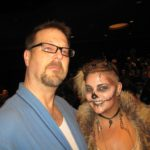 "Dennis ""Brad"" Lambing and Libby, our makeup artist."