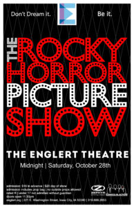 2017 Rocky Horror Picture Show Poster