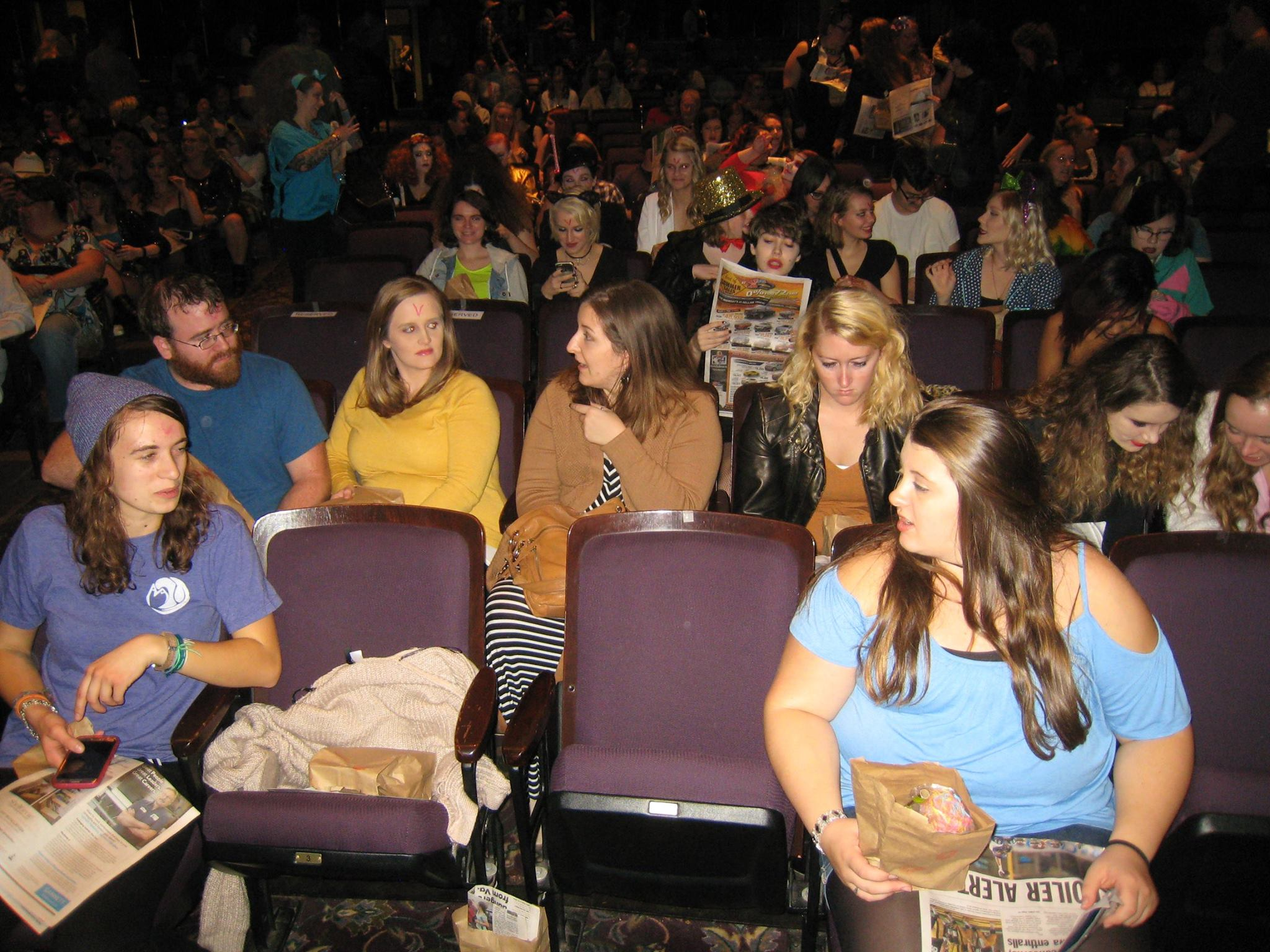 Rocky Horror Picture Show audience 8