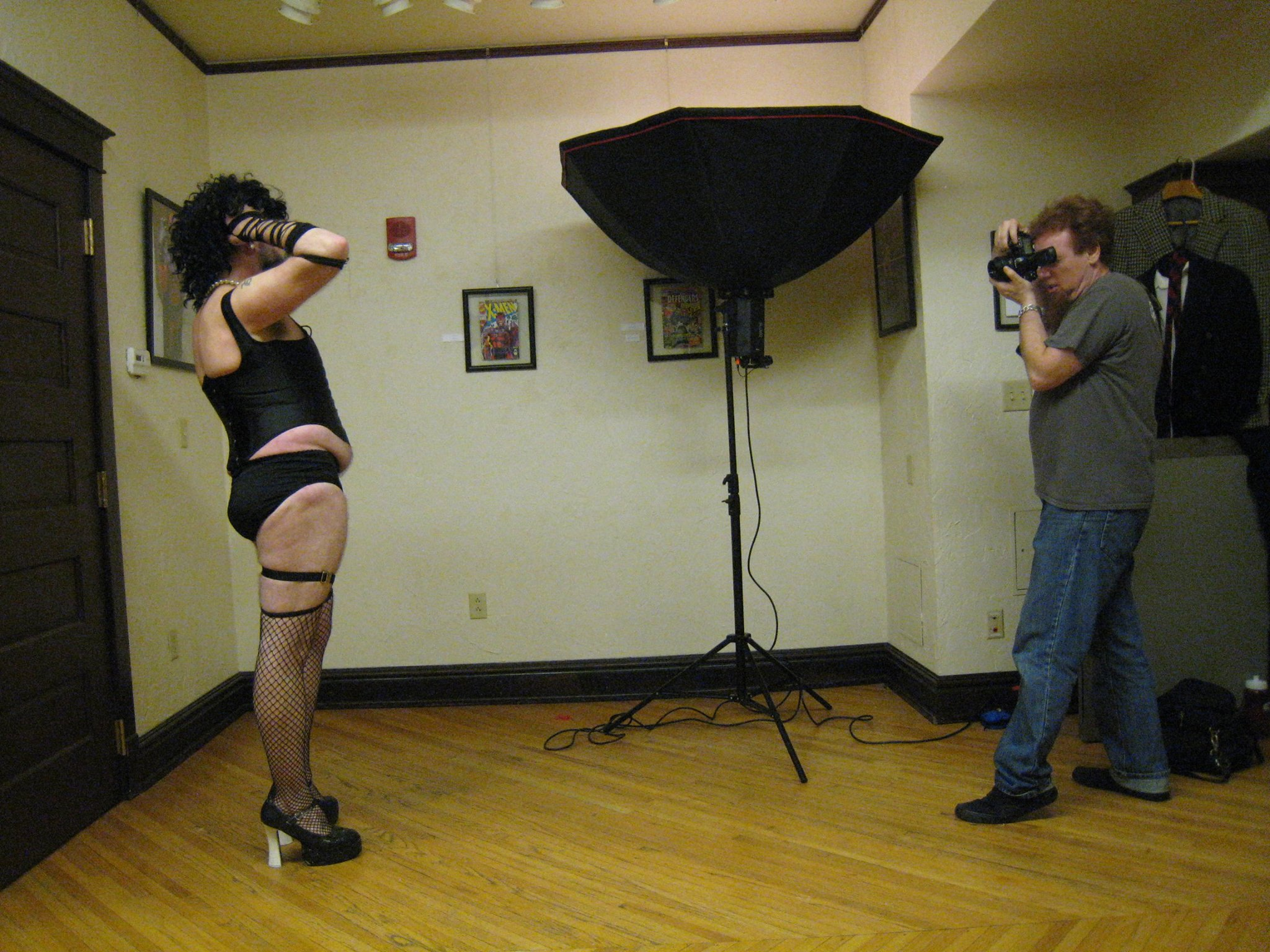 Walbot plays fashion photographer with Ken Van Egdon 2